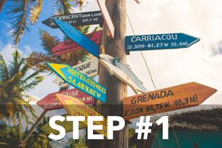 Step #1 - Destinazione.