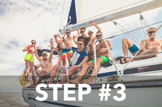Step #3 - Enjoing your trip.